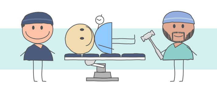 Two Types of Anesthetic for Joint Surgery